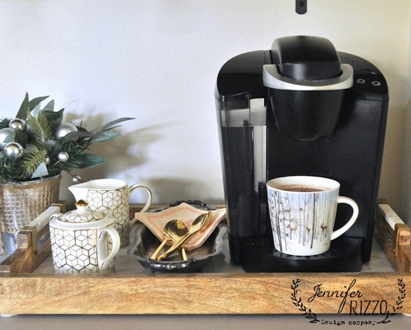 Coffee hot cocoa station