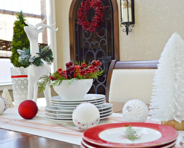 Christmas in the dining room my uncommon slice of suburbia