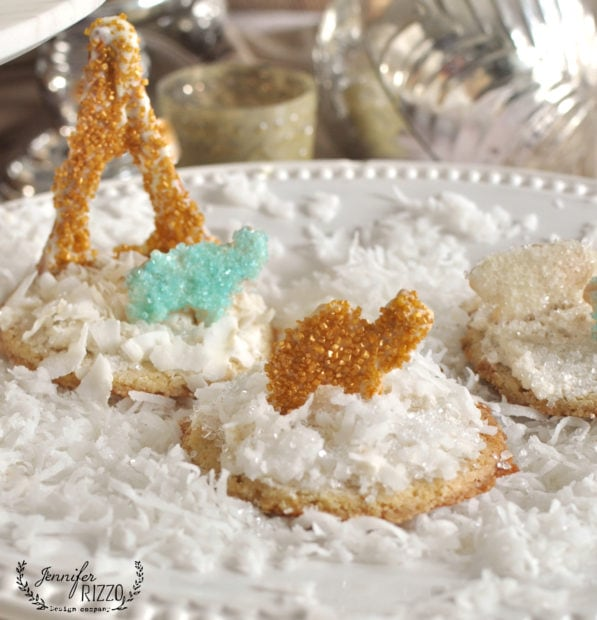 Fun and easy away in a manger holiday cookies
