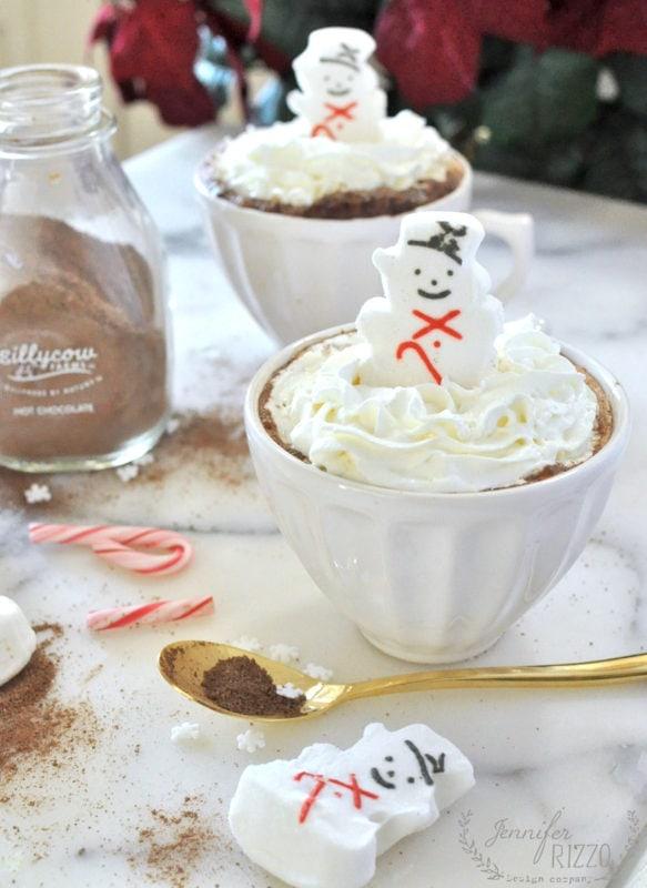 Fun hot cocoa idea