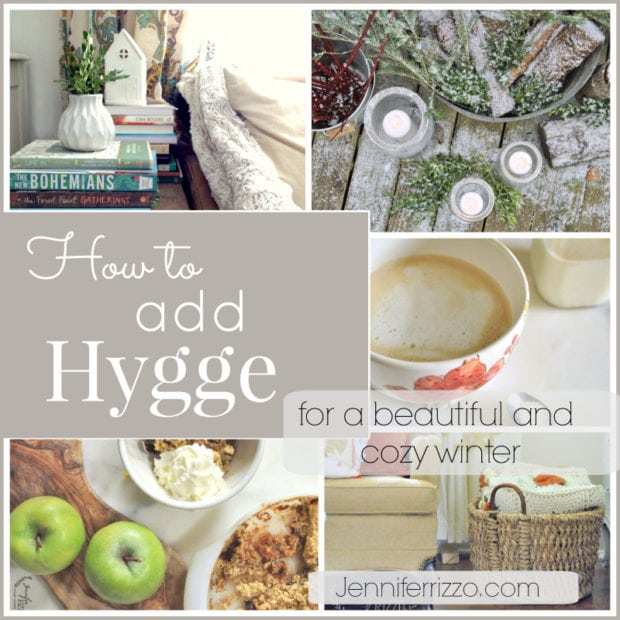Get through winter…introduce the Danish concept of Hygge.