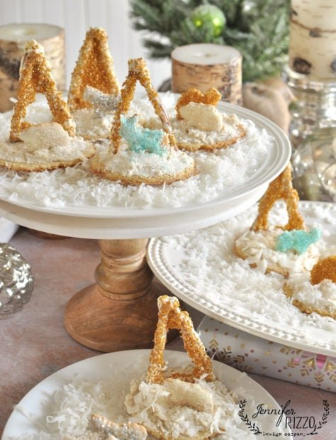 Away in a manger easy and fun holiday cookies
