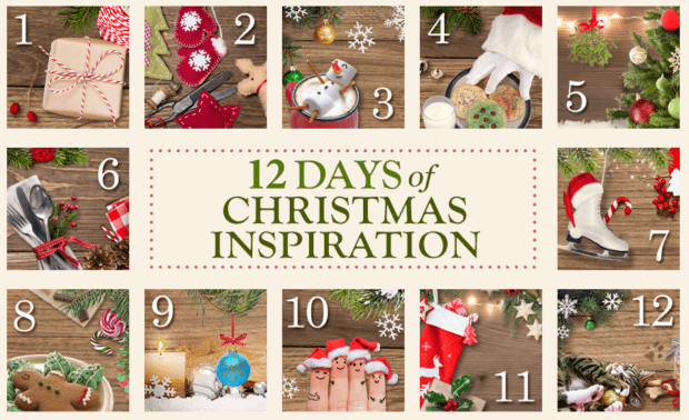 Making Christmas merry with 12 days of Christmas inspiration