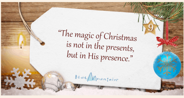 Blue Mountain eCards Christmas inspiration tag #sponsored