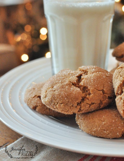 soft and chewy gingersnap recipe
