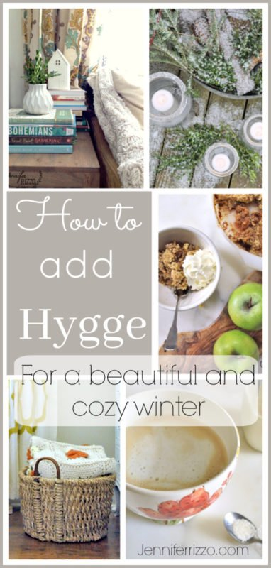 Add teh daish concept of Hygge to your winter