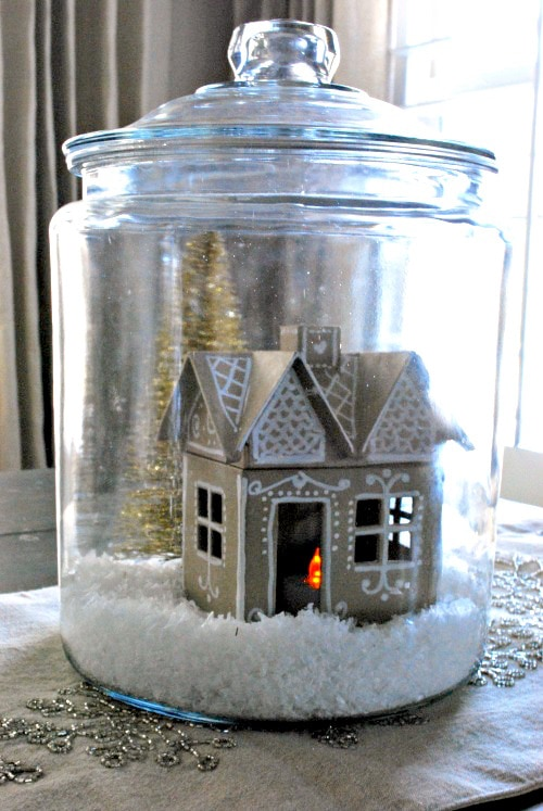 The shabby nest cute cookie jar