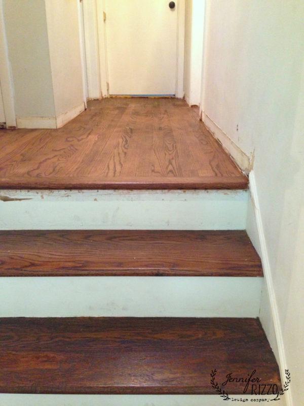 Refinishing Wood Floors In The Hallway Jennifer Rizzo