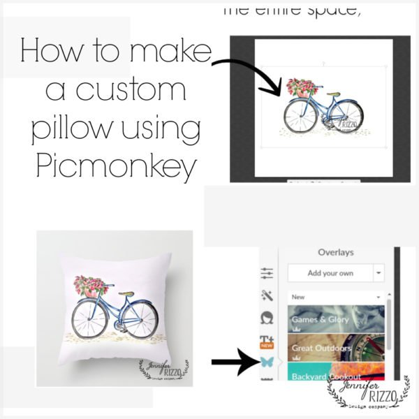 How to make a custom pillow design with Picmonkey