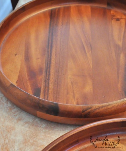 Tuen wood trays into high end mirrors