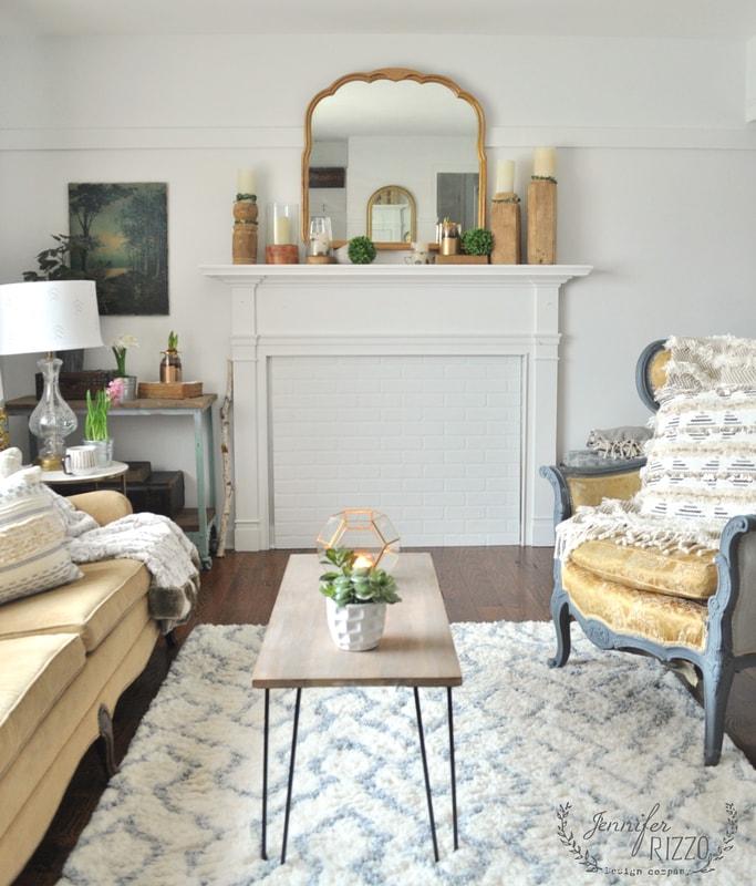 Vintage modern eclectic home - Jennifer Rizzo