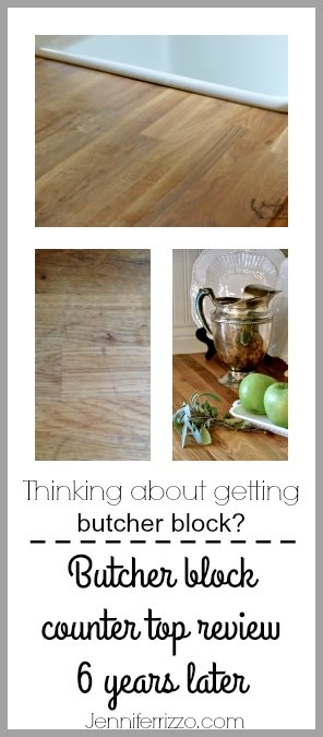 Honest butcher block counter top review after six years of daily use