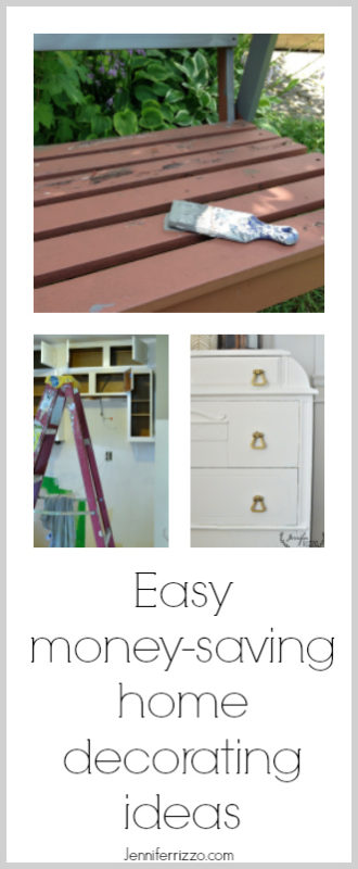 Easy money saving home decorating ideas. Decorate on a budget with big impact