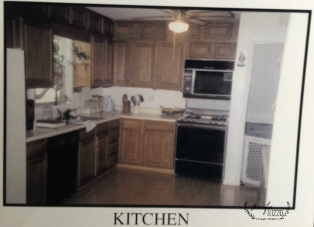 Jennifer Rizzo original kitchen area