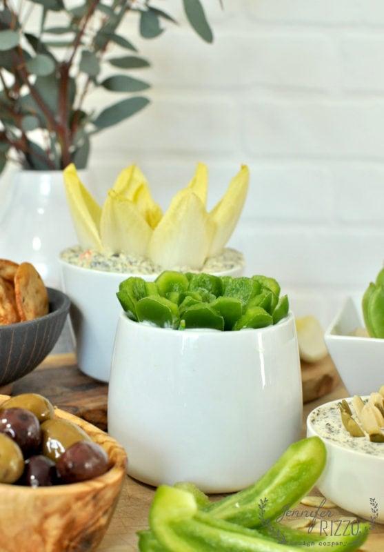 Fun appetizer idea with veggies!