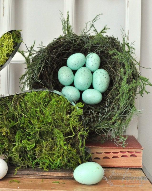 Nest for spring decor