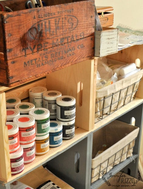 Crate storage idea