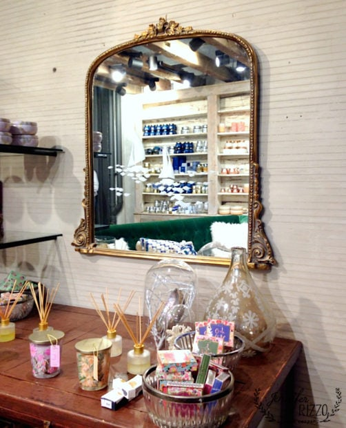 Anthropologie in store display