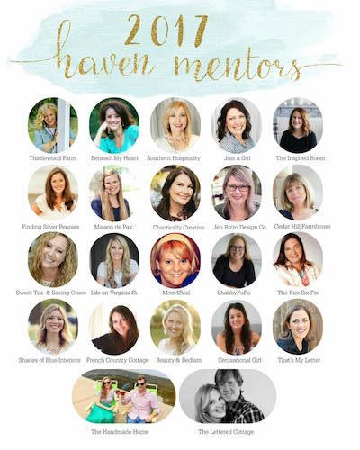 Haven mentor blog hop 2017 and big dreams