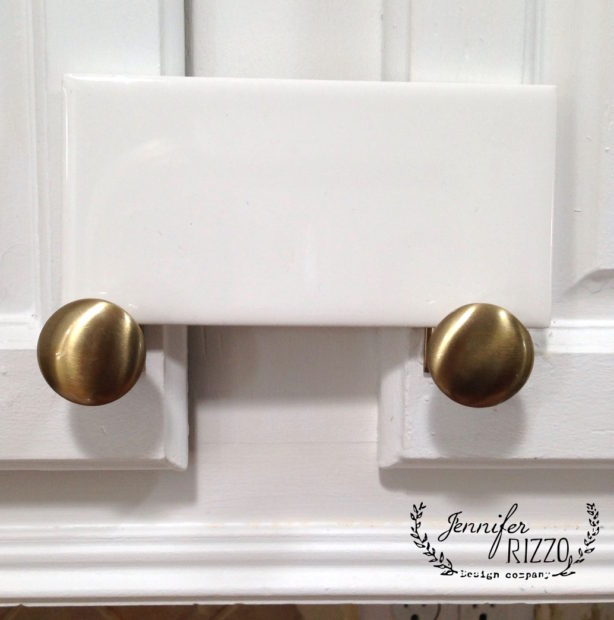 Subway tile from Home Depot