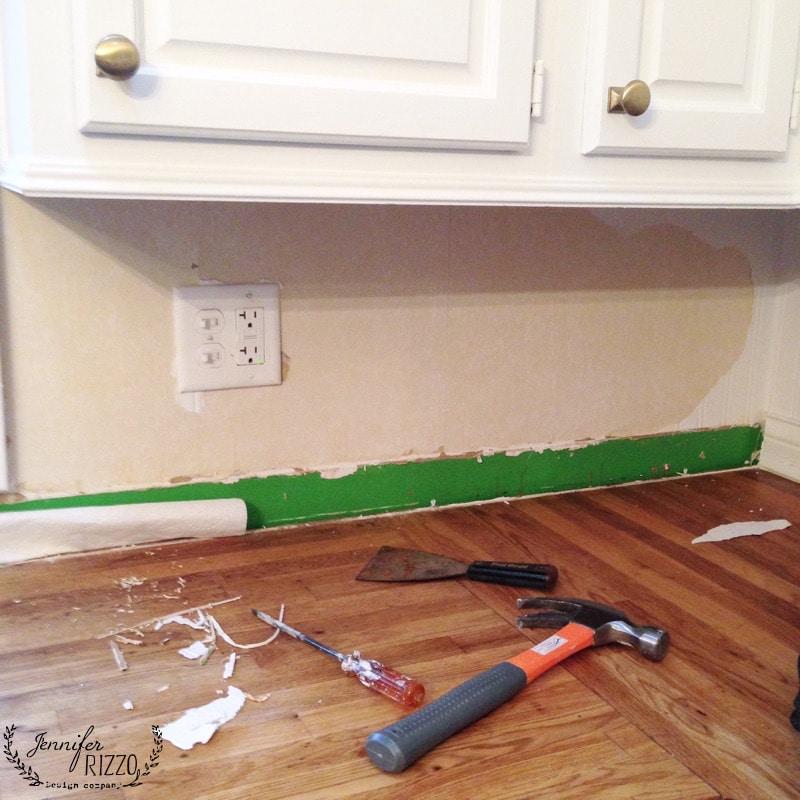 Finally replacing the kitchen backsplash