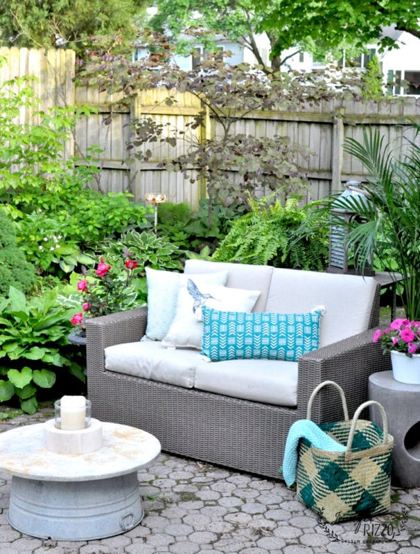 Outdoor sitting area refresh