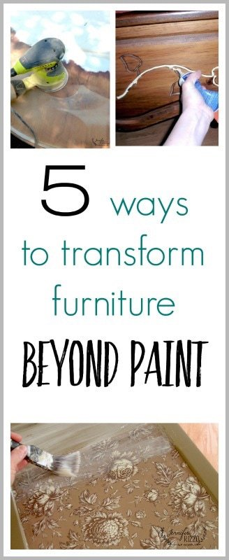 5 ways to transform furniture beyond paint