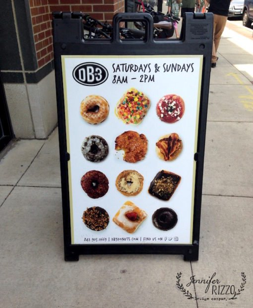 DB 3 donuts in Evanston