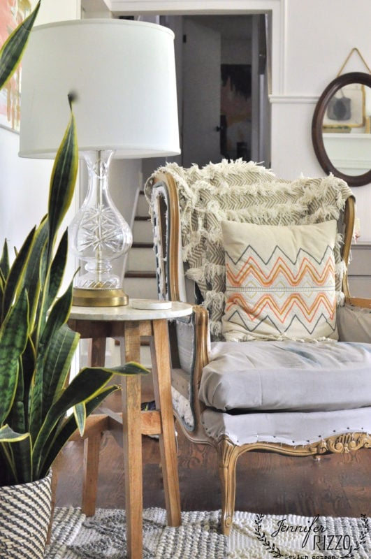 Boho Living room chair
