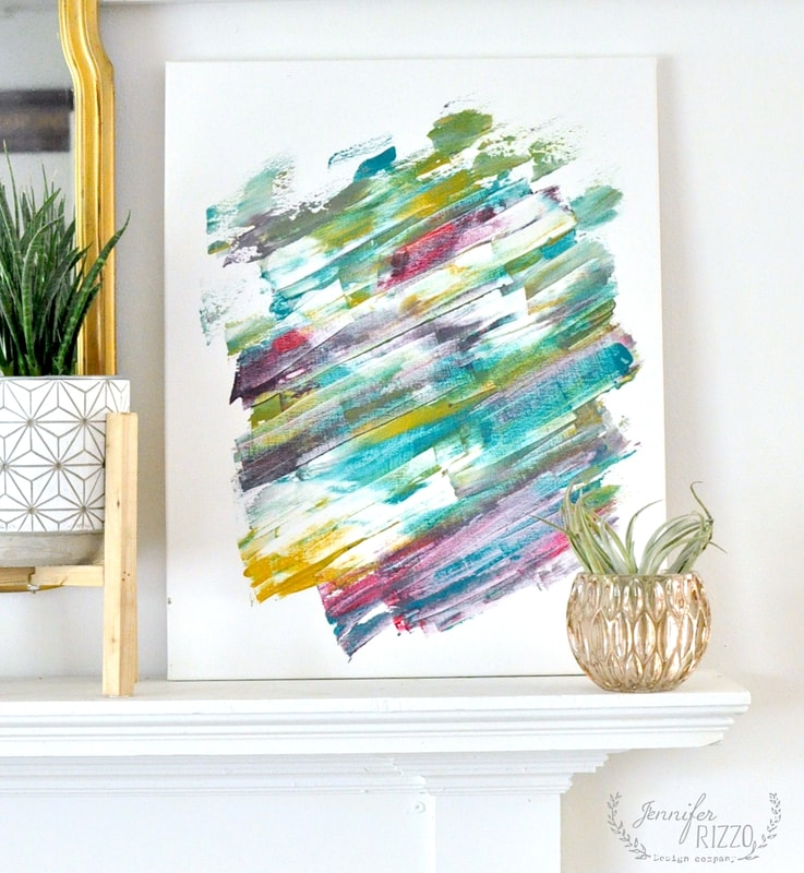 A tie-dye art project and creativity