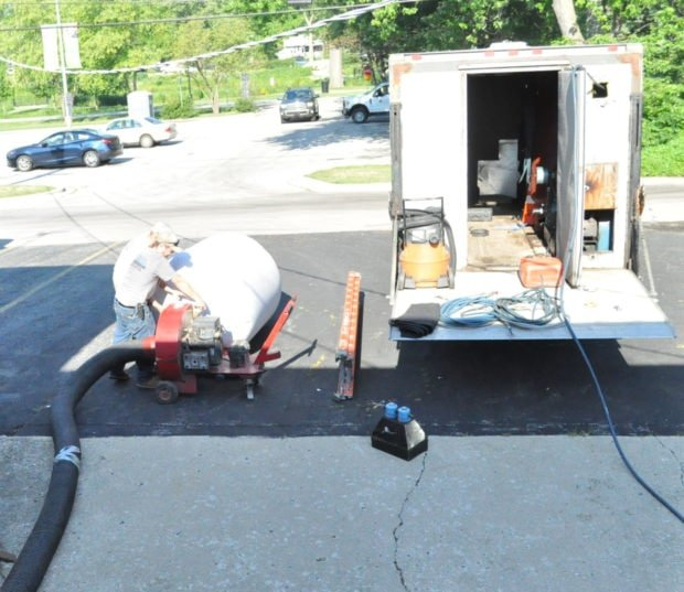 The set up for air duct cleaning for Air ducts Done right