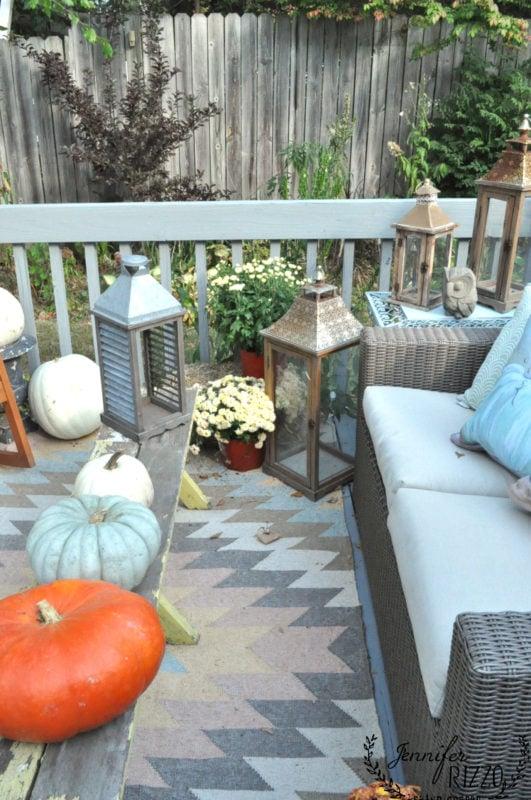 Killim rug pattern for fall