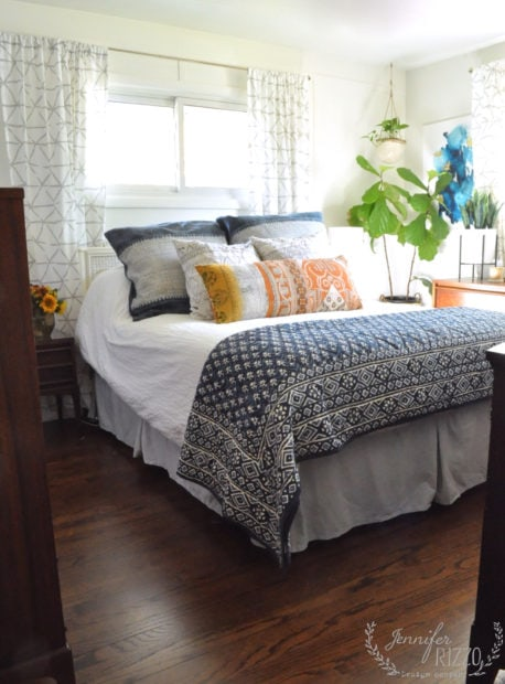 Master bedroom makeover a new light and bright space
