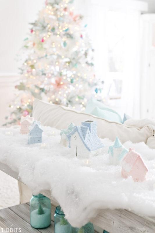 CAmi Tidbits colorful Christmas home and tree