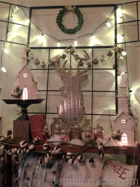 Camp Christmas retail  store display