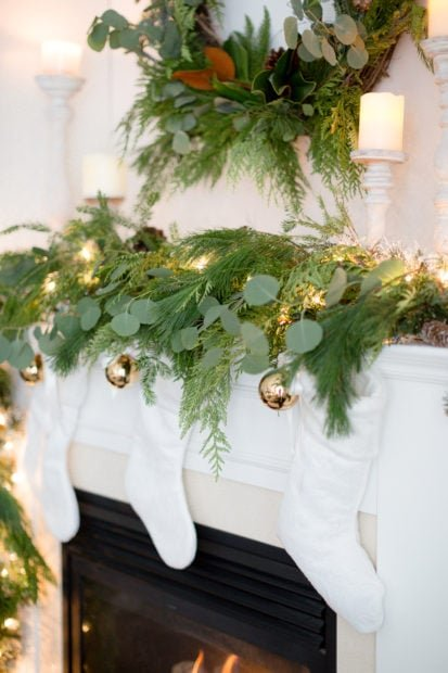 Craftberry Bush mantel 2017