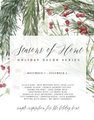 Seasons of home holiday series