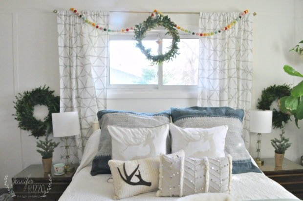 Holiday Bedroom and The Seasons of Home