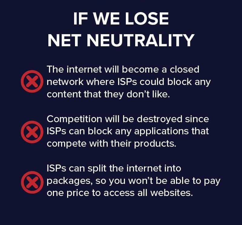 should the internet be neutral They are pro-net neutrality because they believe that the internet's openness makes it an equaliser across geographies, social strata and all therefore, using the highway as you see fit faster or slower after you have paid the initial toll should be your decision, not that of the people who built the road.