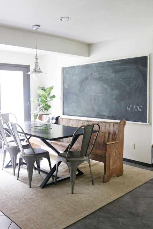 Jones Dsign Company kitchen and chalkboard
