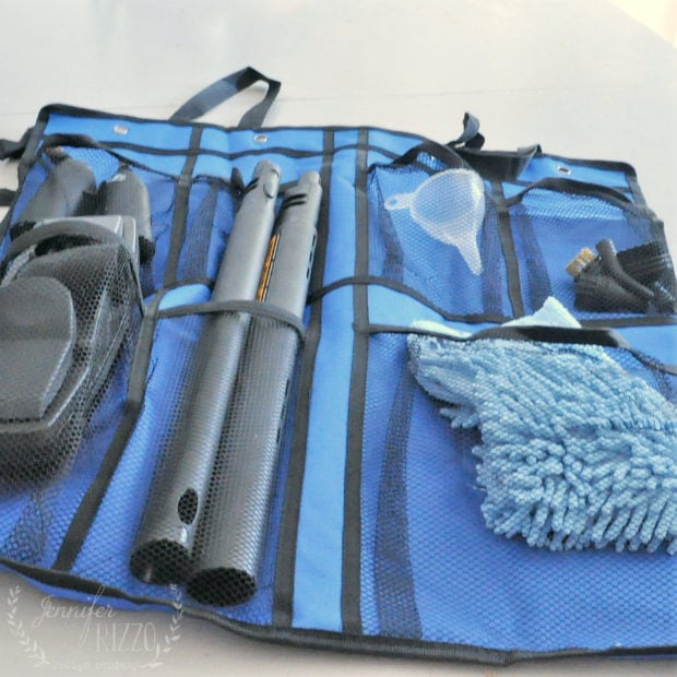 Steam cleaning accessories storage bag