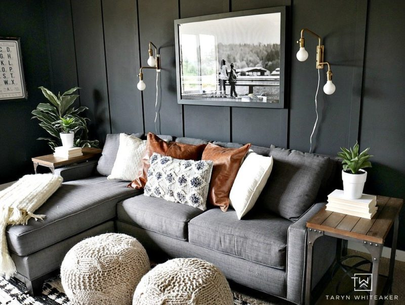 On Trend...Dark Gray Wall Paint Colors - Jennifer Rizzo