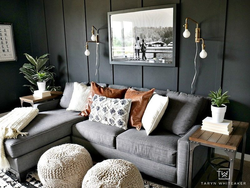 Dark Gray Wall Paint Colors