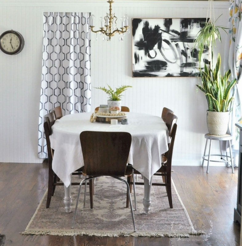 Dining Room Abstract Art