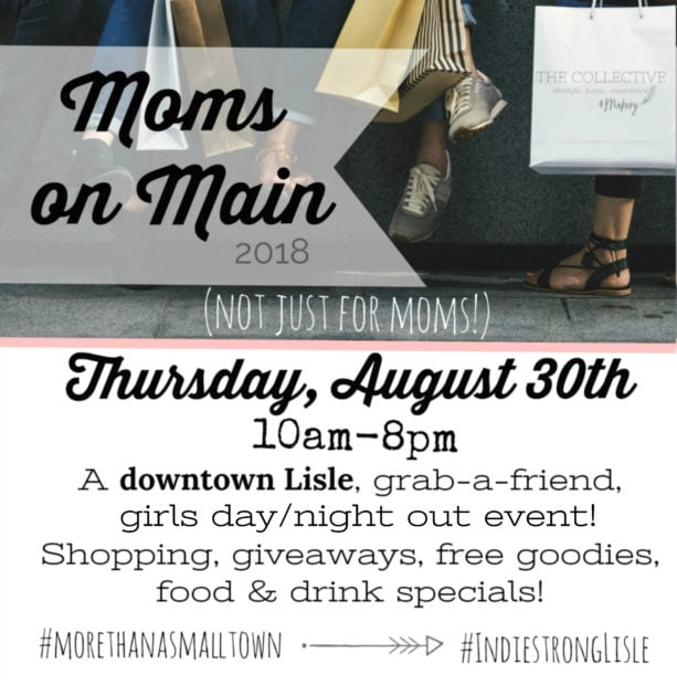 Moms on Main in Downtown Lisle,IL