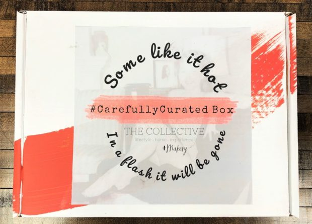 Some Like it Hot subscription box at The Collective lhe +Makery
