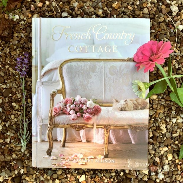 French Country Cottage book by Courtney Allison. Flowers and decorating book