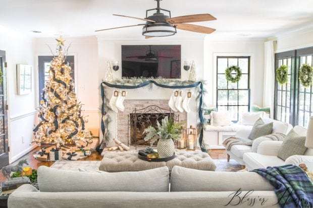 Blesser House Jennifer Rizzo Holiday Housewalk 2018