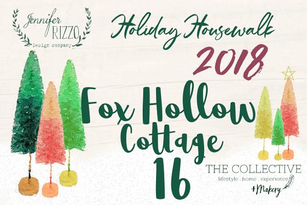 Fox Hollow Cottage Holiday Housewalk