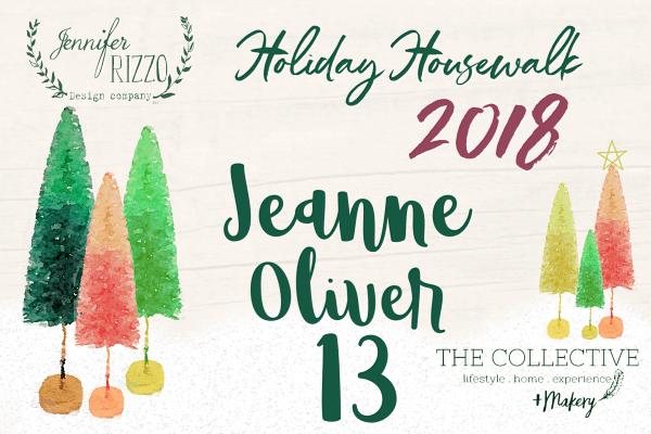 Jeanne Oliver Holiday Housewalk 2018